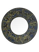Круглое зеркало со знаками зодиака (си-75)