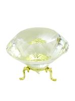 Хрустальные изделия: кристалл белый мелкогранный (хи-03)