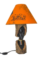 Лампа-торшер эбеновая (лэ-27)