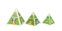 Пирамида - шкатулка (пз-10, пз-11, пз-12)