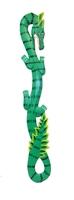 Ящерица - дракон, 5 цветов (я-17)