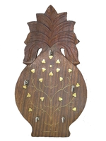 Подставка под ключи в форме ананаса, шишам (пк-64)