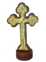 Крест шишам с латунью (кш-08)