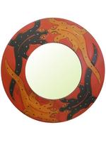 Солнышко: зеркало с двумя ящерицами, 2 цвета (си-103)