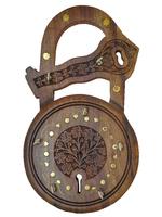 Подставка для ключей в форме замка: ключница шишам (пк-67)