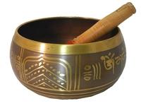 Поющая чаша для медитаций + пест (чл-11 + пм-42)