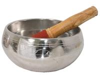 Поющая чаша для медитаций + пест, 2 вида (чл-24 + пм-42)