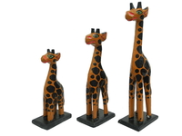 Набор маленьких жирафов (ж-77, ж-78, ж-79)