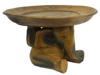 Слон / три слона держат тарелку, 2 вида (см-60)
