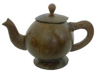 Кокосовый чайник с крышкой (ки-23)