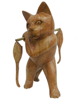 Кот суара несет мышек (кс-31)