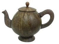 Кокосовый чайник с крышкой (ки-22)