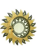 "Солнышко ""месяц"", зеркала клиновидные и лучики, 2 цвета (си-72)"