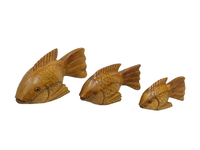 Набор рыб, дерево суара (рс-12, рс-13, рс-14)