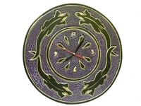 Солнышко с ящерицами и часиками, 4 цвета (си-79)