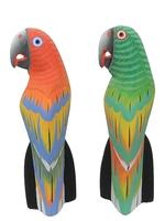 Попугай, матовая краска, 4 цвета (пт-116)