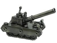 Арт металлический: танк, 4 вида (ам-19)