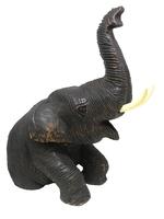Слон тиковый сидящий, Таиланд, (ст-27)