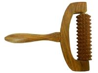 Массажер шишам: рифленый с ручкой (мд-12)