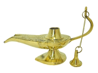 Лампа латунная Алладина, 2 вида (лл-21)