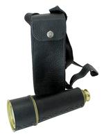 Телескоп латунный в кожаном чехле,  (тл-35)