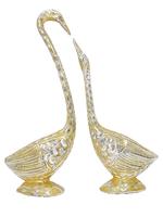 Лебеди алюминиевые, пара (ла-07)