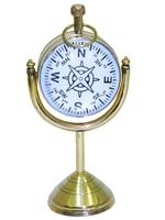 Часы латунные в увеличительном стекле, 2 вида (чл-18)