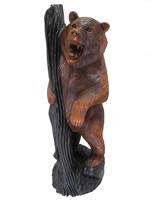 Медведь  с деревом (мс-11)