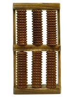 Массажер шишам для ног, рифленый, двойной (мд-16)