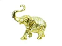 Слон алюминиевый, нога изогнута, хобот вверх (са-19)