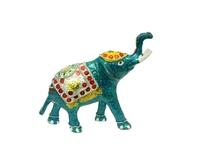 Слон алюминиевый цветной, 4 цвета (са-18)