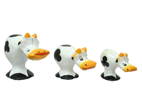 Набор небольших коров стоящих  (к-101, к-102, к-103)