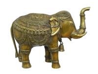 Бронзовый слон с колокольчиком (бс-20)