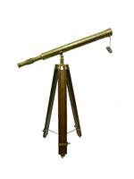 Телескоп латунный на треноге (тл-18)