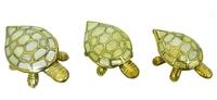 Черепаха латунная - шкатулка (чл-08, чл-09, чл-10)