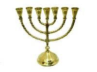 Подсвечник латунный на 7 свечей (пл-85)