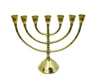Подсвечник латунный на 7 свечей (пл-29)