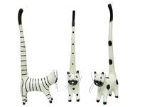 Котик под кольца стоит хвост длинный, 6 видов (кк-40)