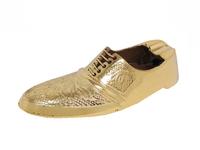 Пепельница латунная в виде мужского туфля (пл-175)