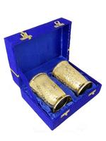 Набор стаканов на две персоны в красной/синей коробке (нр-72)