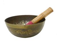 Поющая тонкостенная чаша для медитаций  + пест (чл-25 + пм-42)