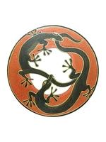 Солнышко с зеркалом и 2 ящерицами (си-65)