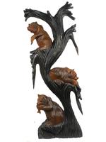 Три медведя на дереве, 2 цвета (мс-12)