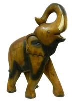 Слон манговый, хобот вверх и закручен (см-31)