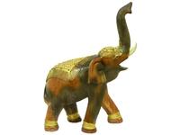 Слон манго, хобот вверх с золотом (см-46)