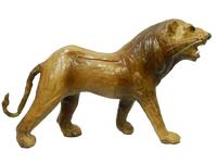 Кожаные животные средние: лев (кж-64)