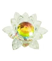 Хрустальные изделия: лотос цветной (хи-11)