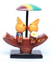 Два кота (собаки, обезьяны, лягушки) сидят на бревне под звездой, листком и т.д. (кд-36)