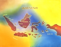 Батик большой, Индонезия, (би-04-01)
