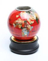 Глобус каменный: подставка для ручек (гк-14)